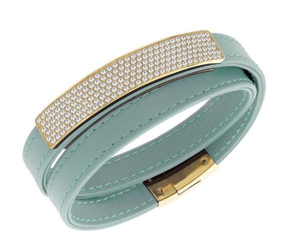 スワロフスキー ヴィオ シエロ レザー ブレスレット 5120641 Swarovski Vio Cielo Leather Bracelet 【ポイント最大43倍!お買物マラソン】