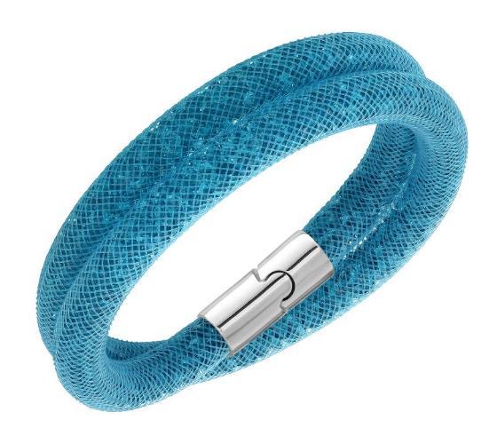 スワロフスキー スターダスト ブルー ダブル ブレスレット 5139744 Swarovski Stardust Blue Double Bracelet 【ポイント最大43倍!お買物マラソン】