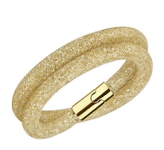 スワロフスキー スターダスト デラックス ブレスレット ゴールド 5184171 / 5159277 Swarovski Stardust Deluxe Bracelet 【ポイント最大43倍!お買物マラソン】