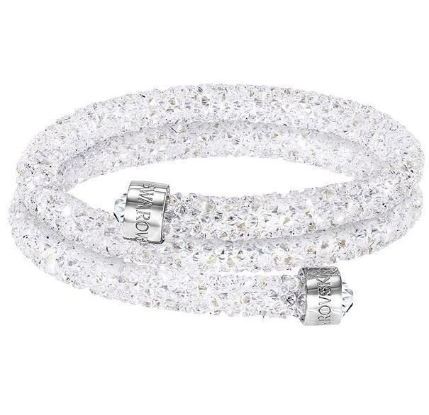 スワロフスキー クリスタルダスト バングル ダブル ホワイト 5255900 5237754 Swarovski Crystaldust Bangle Double White【ポイント最大43倍!お買物マラソン】