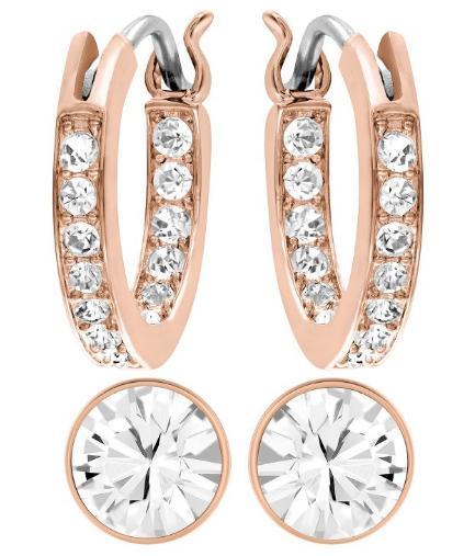 スワロフスキー キャンバス ピアス セット ローズゴールド 5113771 Swarovski Canvas Pierced Earrings Set 【ポイント最大43倍!お買物マラソン】