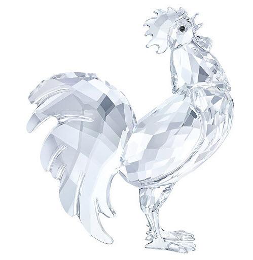 スワロフスキー オンドリ 十二支 トリ 鶏 酉年生まれのラッキーアイテム 5135943 Swarovski Rooster□