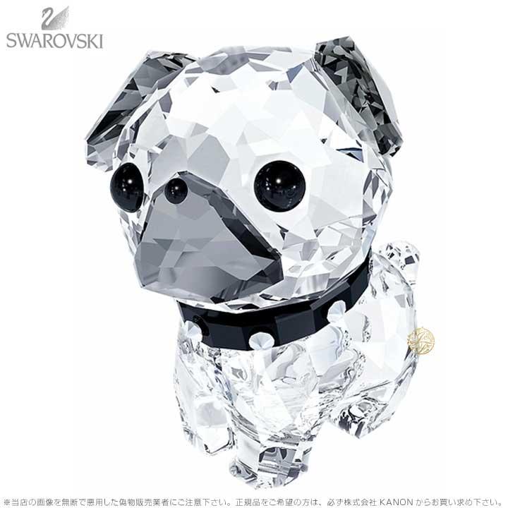 スワロフスキー パピー ロキシー パグ 犬 5063333 Swarovski Puppy Roxy The Pug □