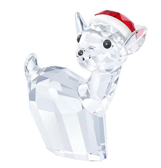 スワロフスキー 雌ジカとサンタハット 5135853 Swarovski Doe with Santa's Hat 【ポイント最大42倍!お買物マラソン】