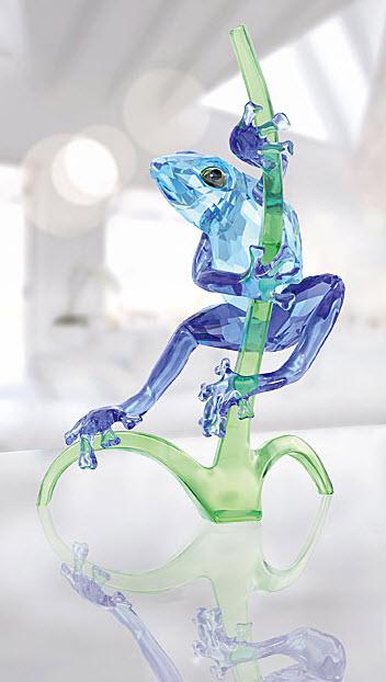 スワロフスキー カエルと枝 5239716 Swarovski Frog on Branch□
