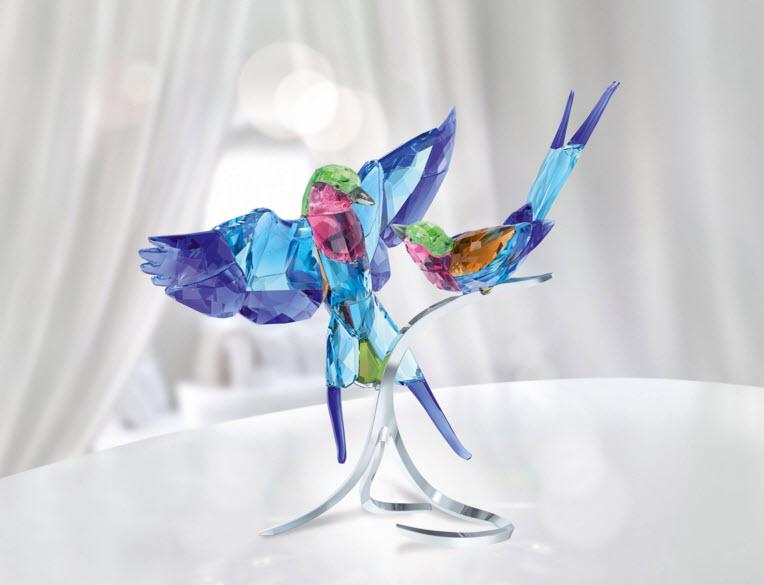 スワロフスキー ライラックニシブッポウソウ 鳥 5258370 Swarovski Lilac-Breasted Rollers【ポイント最大42倍!お買物マラソン】