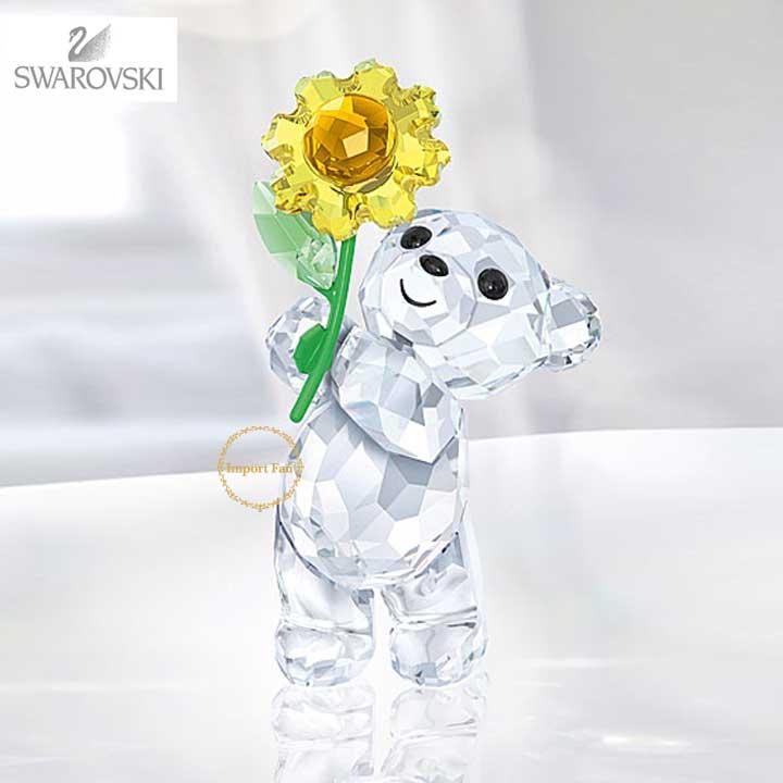スワロフスキー クリスベア ひまわりをあなたに 5268764 Swarovski Kris Bear - A Sunflower for You□