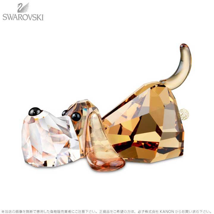スワロフスキー ペッピーノ 935720 バセットハウンド 犬 Swarovski Gang of Dogs Peppino 【ポイント最大43倍!お買物マラソン】