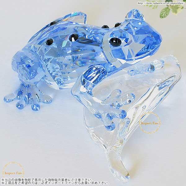 スワロフスキー 2009年度SCS会員限定作品 青いカエル 955439 Swarovski Blue Dart Frog□