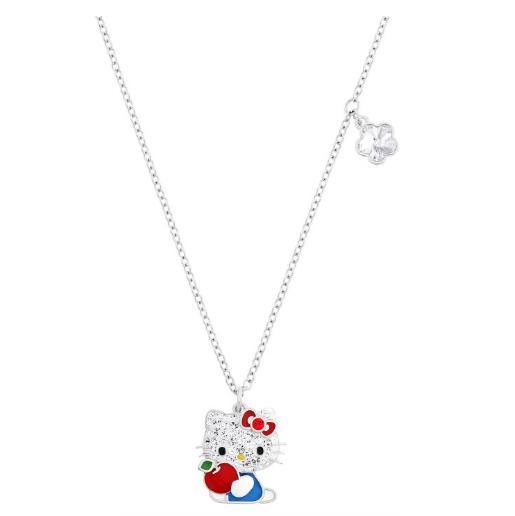 スワロフスキー ハロー キティ レッド アップル ペンダント 5075268 Swarovski Hello Kitty Red Apple Pendant □
