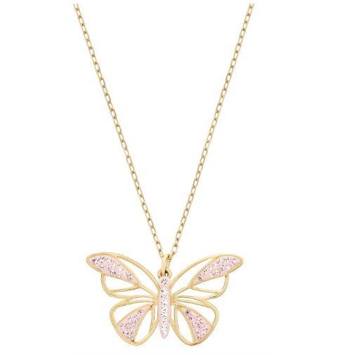 スワロフスキー バタフライ ペンダント ゴールド 蝶 5099027 Swarovski Butterfly Pendant 【ポイント最大43倍!お買物マラソン】
