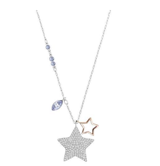 スワロフスキー デュオ スター メディウム ペンダント 5169394 Swarovski Duo Star Medium Pendant □