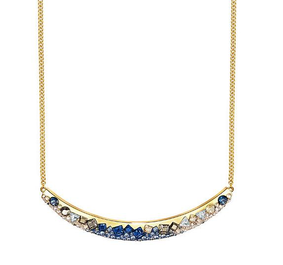 スワロフスキー フレックル ネックレス ブルーゴールド 5226101 Swarovski Freckle necklace【ポイント最大43倍!お買物マラソン】