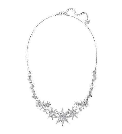 スワロフスキー フィジー ネックレス 星 5230286 Swarovski Fizzy necklace□