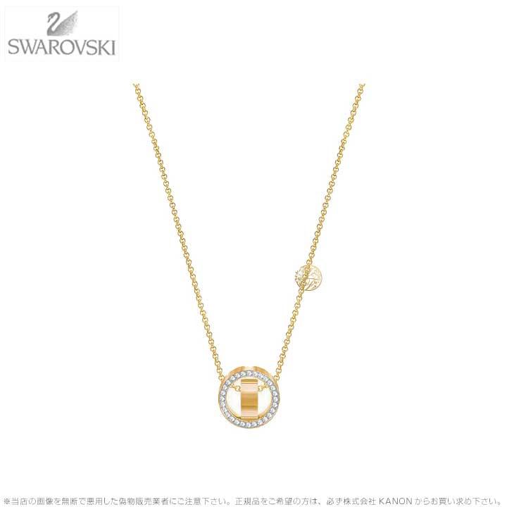 スワロフスキー ホロウ ペンダント スモール ゴールド 5349336 Swarovski HOLLOW PENDANT, SMALL, WHITE, GOLD PLATING□