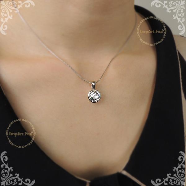 5279ce1c2132b Swarovski necklace Simple Shin pull crystal Swarovski X OLIVER WEBER □
