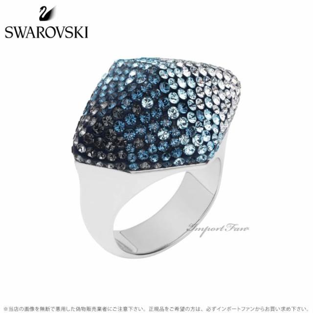Swarovski MOSELLE RING AQUA PALLADIUM PLATING スワロフスキー 流行のアイテム モーゼル 日時指定 ポイント最大44倍 スーパー セール リング アクア 5455851 指輪 5455833