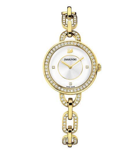 スワロフスキー アイラ イエロー ゴールド トーン ブレスレット ウォッチ 腕時計 1124151 Swarovski Aila Yellow Gold Tone Bracelet Watch □