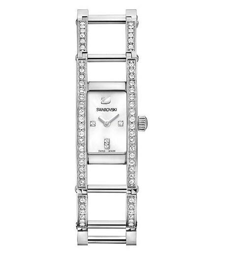 スワロフスキー インディラ ホワイト ウォッチ 腕時計 1186072 Swarovski Indira White Watch □