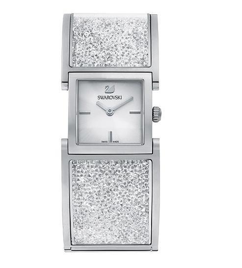 スワロフスキー クリスタリン バングル ウォッチ 腕時計 5027134 Swarovski Crystalline Bangle Watch □