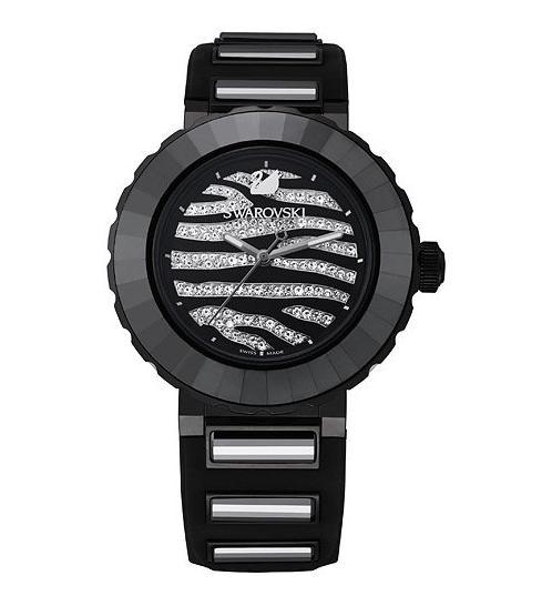 スワロフスキー ニュー オクテア スポーツ ゼブラ ウォッチ 5040563 Swarovski New Octea Sport Zebra Watch □