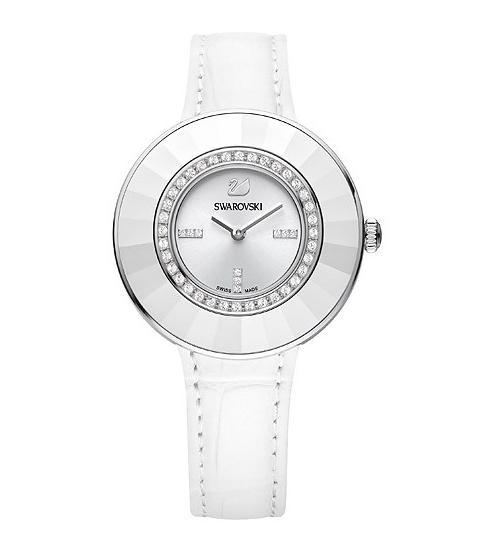 スワロフスキー オクテア ドレッシー ホワイト ウォッチ 腕時計 5080504 Swarovski Octea Dressy White Watch □