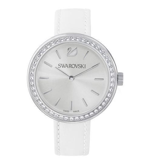 スワロフスキー デイタイム ホワイト ウォッチ 腕時計 5095603 Swarovski Daytime White Watch □