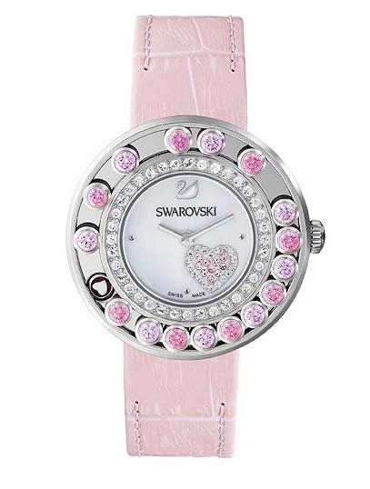 スワロフスキー ラブリー クリスタル ハート ウォッチ 腕時計 5096032 Swarovski Lovely Crystals Heart Watch □