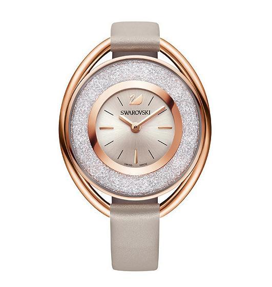 スワロフスキー クリスタリン オーバル ローズゴールド トーン ウォッチ 5158544 Swarovski Crystalline Oval Rose Gold Tone Watch 【ポイント最大43倍!お買物マラソン】