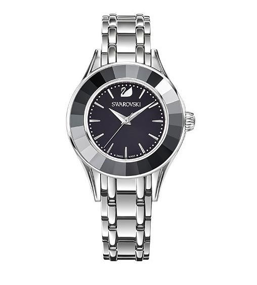 スワロフスキー アレグリア ウォッチ ブラック シルバー 腕時計 5188844 Swarovski Alegria Watch Black □