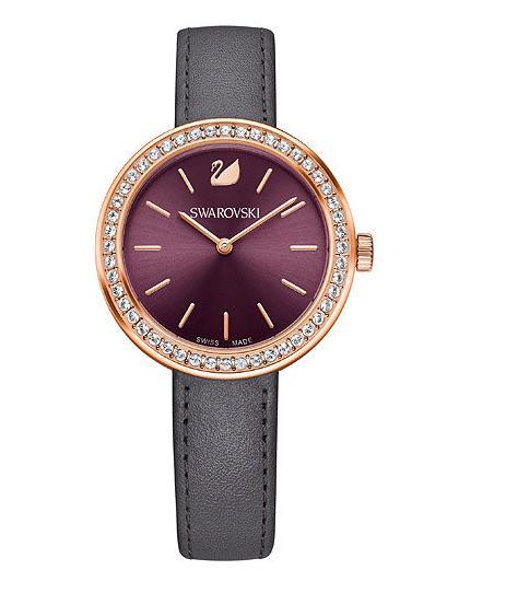 スワロフスキー デイタイム ウォッチ バーガンディー 腕時計 5213671 Swarovski Daytime Watch Burgundy□