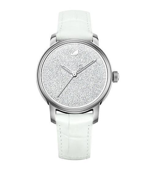 スワロフスキー クリスタリン アワーズ ウォッチホワイト 腕時計 5218899 Swarovski Crystalline Hours Watch White □