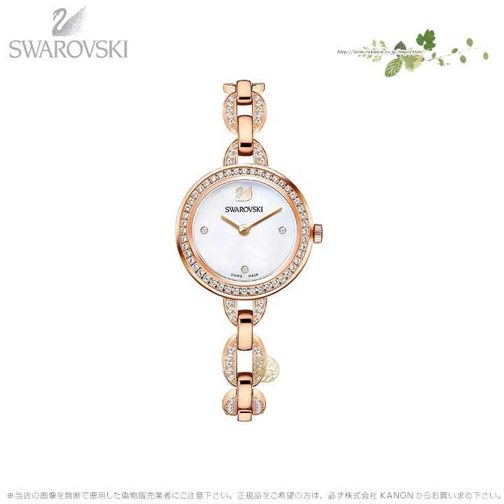 スワロフスキー アイラ ミニ ウォッチ メタル ブレスレット ローズゴールド 時計 5253329 Swarovski □
