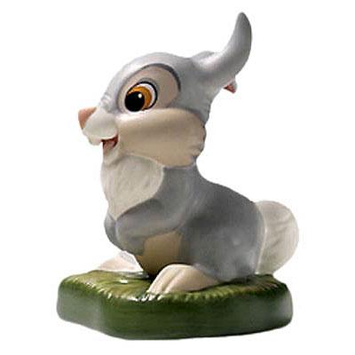 【ポイント最大43倍!お買物マラソン】WDCC バンビ サンパー 1229504 Bambi Thumper Did The Young Prince Fall Down