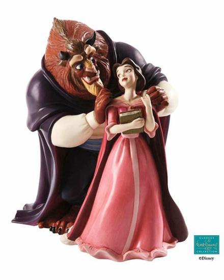 【ポイント最大43倍!お買物マラソン】WDCC 美女と野獣 ベルとビースト新しい章 4010539 Belle and Beast A New Chapter Begins