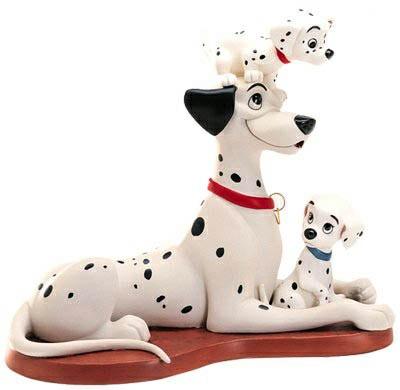 【ポイント最大43倍!お買物マラソン】WDCC 101匹わんちゃん ポンゴと子犬たち 453054339 Proud Pongo