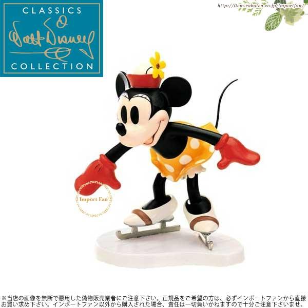 WDCC ミニー わーい! スケート オン・アイス Minnie Mouse Whee On Ice 1028633 【ポイント最大42倍!お買物マラソン】