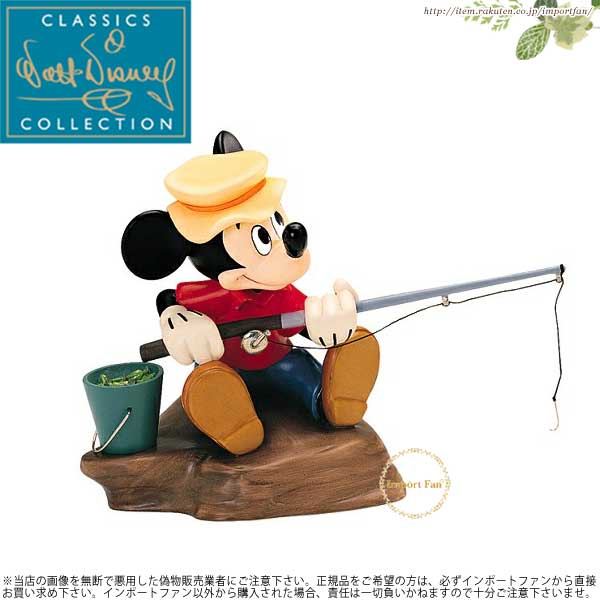 WDCC ミッキーの魚釣り Mickey Mouse Somethin Fishy The Simple Things 【ポイント最大43倍!お買物マラソン】