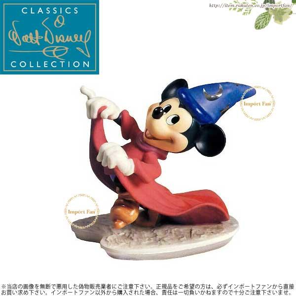 WDCC ミッキーマウス ファンタジア 魔法使いミッキー いたずら弟子 Fantasia Sorcerer Mickey Mischievous Apprentice 11K-41016-0 □