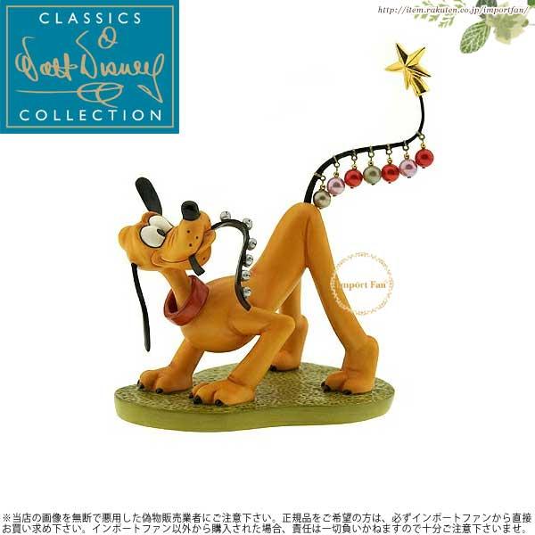 WDCC プルート 飾り付けのお手伝い プルートのクリスマス ツリー Pluto Helps Decorate Pluto's Christmas Tree 【ポイント最大43倍!お買物マラソン】