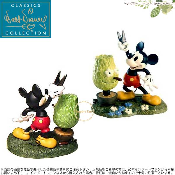 WDCC ミッキーマウス 植木屋 Mickey Mouse A Little Off the Top 1203578 【ポイント最大44倍!お買い物マラソン セール】