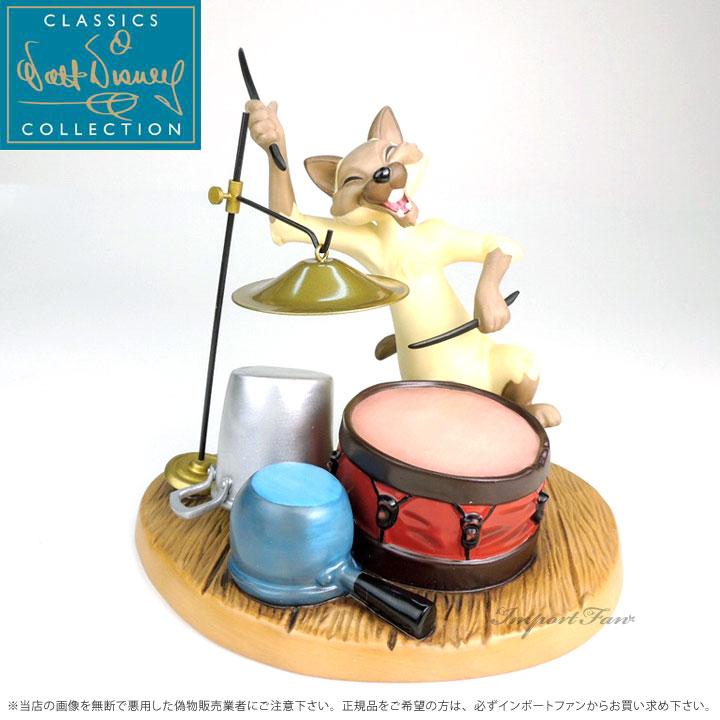 WDCC おしゃれキャット チャイニーズキャット 1230068 The Aristocats Chinese Cat Crazy Cat キャッシュレス5%還元対象 防災 月末バーゲンセール キャンセル・変更について 販促品 迎春