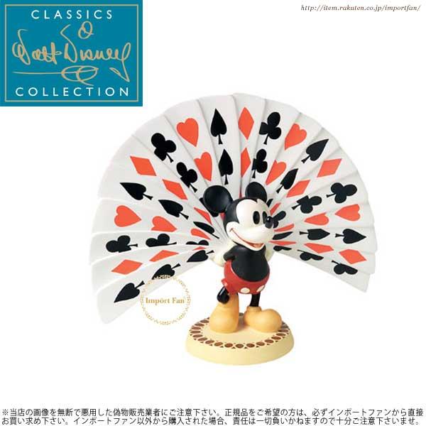 WDCC ミッキー トランプ 4005410 Mickey with Playing Card 【ポイント最大43倍!お買物マラソン】