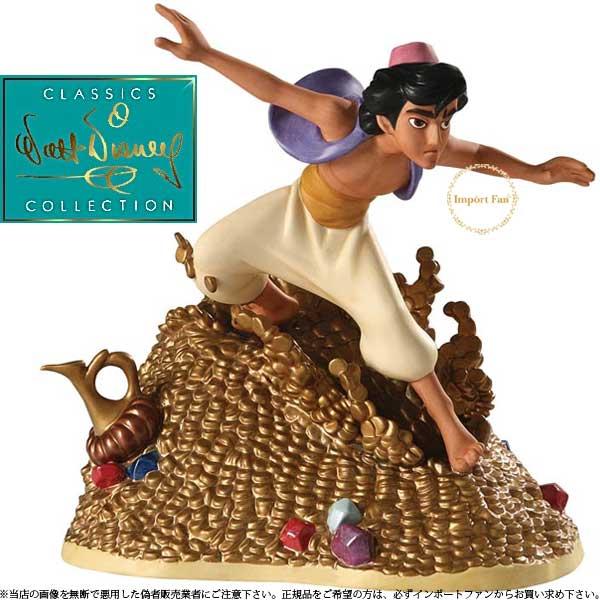 WDCC アラジン 2009年限定 4012522 ウォルト ディズニー クラシックス コレクション Racing To The Rescue Aladdin □