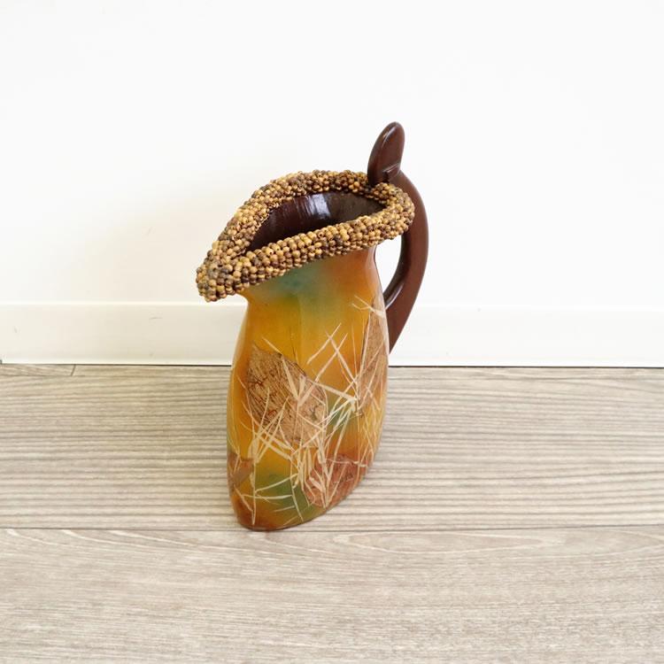 花瓶 フラワーベース 造花用 おしゃれ 高級 リビング 玄関 アジアン インテリア 一輪挿しロビーエントランス
