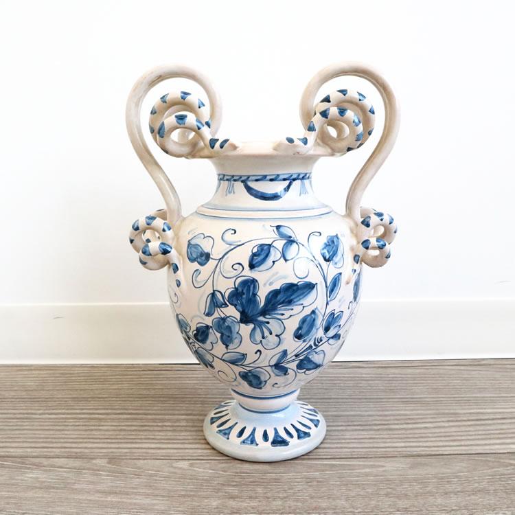 gianfranco ballerini 陶器 フラワーベース ジャンフランコべレリーニ ヨーロッパ デザイン インテリア クラシック 花器 おしゃれ 窓 リビング 玄関 ロビー