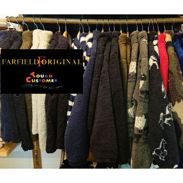 ファーフィールド フリースジャケット 男女兼用 秋冬用 イギリス製 FARFIELD farfiled fleece jkt ENGLAND
