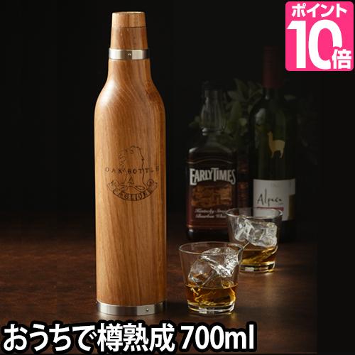ボトル オークボトル 贈り物 Lサイズ 700ml 天然木 OAK ウィスキー BOTTLE フルボトル 木製 天然木 ワイン ウィスキー 酒 熟成 バーボン ブランデー ギフト 贈り物 ホワイトオーク, おくすり本舗:9100a8e4 --- sunward.msk.ru