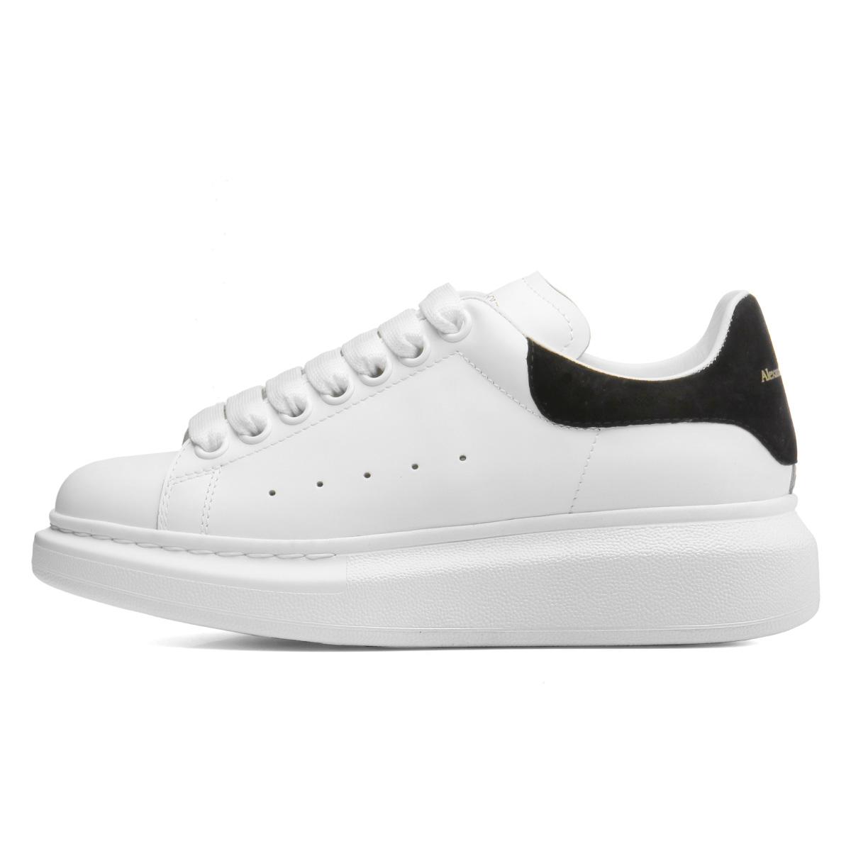 Alexander McQueen ALEXANDER McQUEEN shoes Lady's 553770 WHGP7 9061 sneakers  WHITE/BLACK white