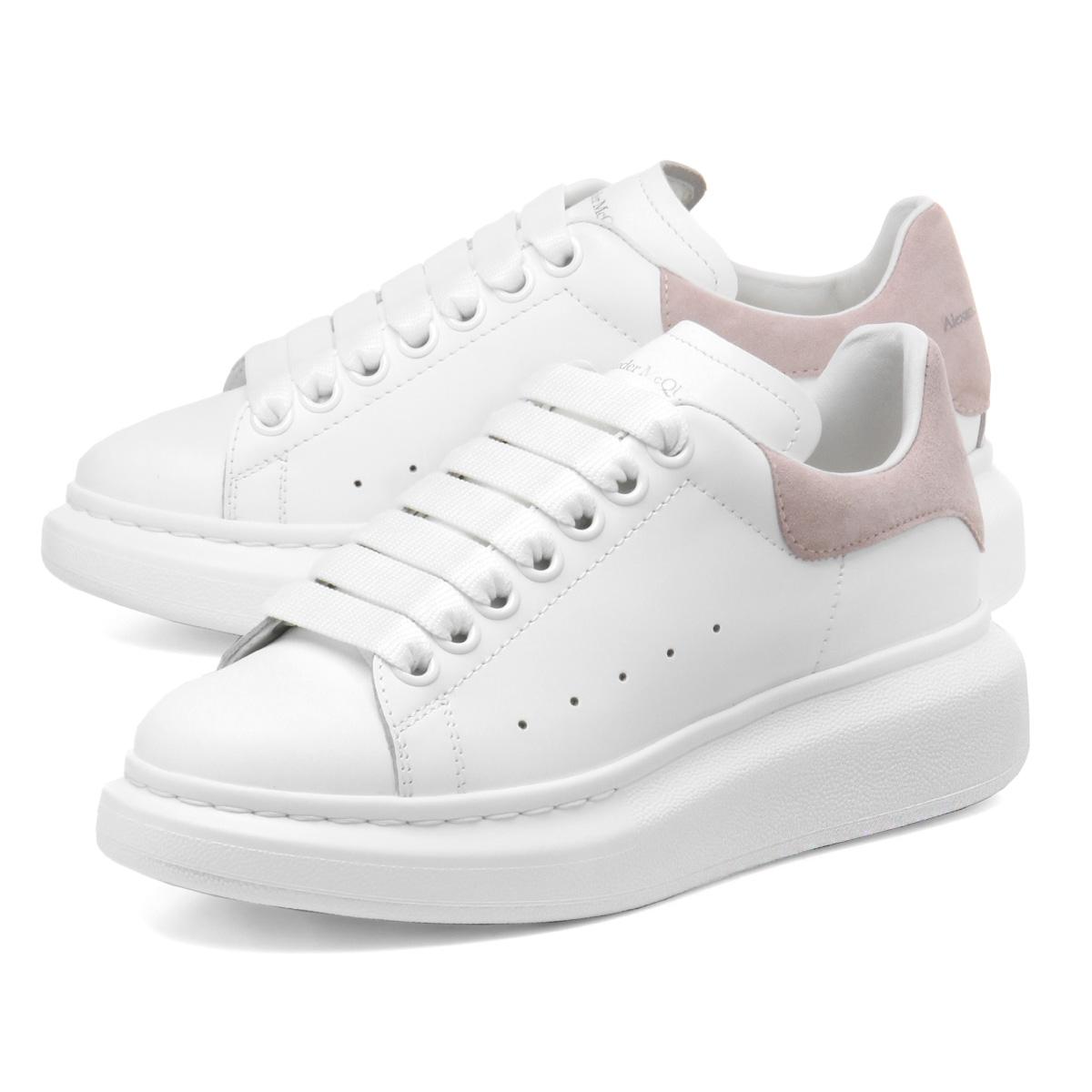 Alexander McQueen ALEXANDER McQUEEN shoes Lady's 553770 WHGP7 9182 sneakers  WHITE/PATCHOULI white